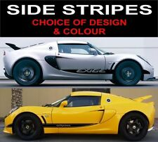 lotus exige side stripe decals 2off graphics choice of design