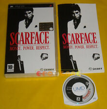 SCARFACE MONEY POWER RESPECT Psp Versione Italiana »»»»» COMPLETO
