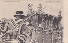 * ROYALTY - Coronation Review 1902, King Edward VII - The Royal Carriage
