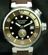 LOUIS VUITTON Tambour DIVER 300M Mens Automatic WATCH Super Compressor Q1031 SS