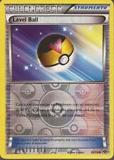 POKEMON - Level Ball - 89/99 - Reverse Holo - N&B Destini Futuri - ITA