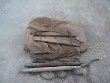 1950'S Original and Rare French tent set M 1935 dated 1945 Indochina War