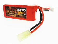 Batteria Lipo Litio 1600 mAH 7,4 V 30 C Billowy Power