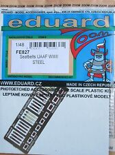 Eduard 1/48 FE827 Colour Steel Etch WW2 Japaneses Army Aircraft Seatbelts