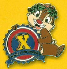 CHIP from Chip n Dale 10th Pin Trading Anniversary Promotion Disney Pin 74973