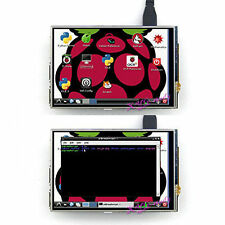 "4"" inch RPi Resistive Touch Screen LCD 320x480 for Raspberry Pi B, B+, P2 Board"