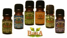 Beginner  Essential Oil Set of 6 -5 ML - Basa Oils - Free Shipping