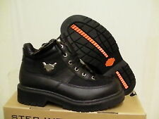 Harley davidson casual boots sierra 5 inch high leather boots black size 8 us