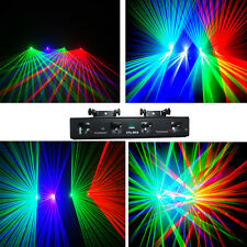 NEW ITEM 4 Lens250mW Red+Green+ violet +Green DMX Laser DJ Stage Lighting