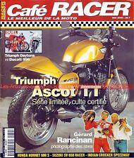 Café Racer 32 SUZUKI GSXR 750 TRIUMPH ASCOT DUCATI 996 851 SP3 HONDA CBX TURBO