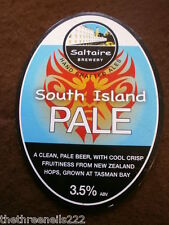 BEER PUMP CLIP - SALTAIRE SOUTH ISLAND PALE