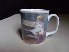 1992 Bentley House The Antique Doll Mug Cup Richard Judson Zolan Roman Inc Japan