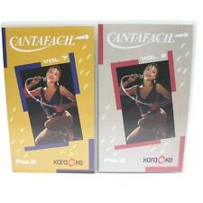 CANTAFACIL VOLUMEN 2 Y  7-CINTAS DE VIDEO CON MUSICA DE  KARAOKE