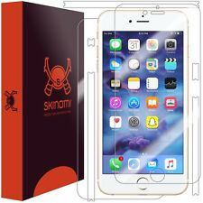 Skinomi FULL BODY Clear Skin+Screen Protector For Apple iPhone 7 Plus