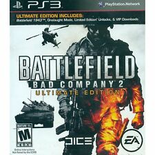 *NEW* Battlefield Bad Company 2 Ultimate Edition - PS3