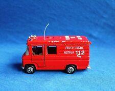 SIKU - Mercedes Benz L 406 D. Feuer Unfall Rettungswagen *Rarität*