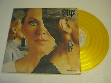 Styx ''Pieces of Eight 12'' Gold Color LP Vinyl Record