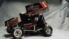 2014 SAMMY SWINDELL # 1 R&R BIG GAME TREESTANDS RACE SPRINT CAR 1:18 GMP DIECAST