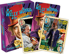 Willy Wonka Playing Cards Deck Brand New Sealed