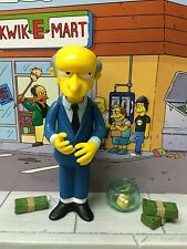 Playmates The Simpsons World of Springfield WoS Series Mr Burns ReRelease