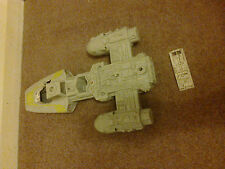 STAR WARS Y WING FIGHTER 1983 WORKING RESTORATION PROJECT NOT COMPLETE REPAIRS