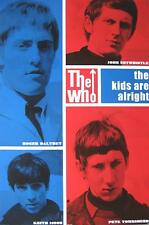 """WHO / THE WHO POSTER """"THE KIDS ARE ALRIGHT"""""""