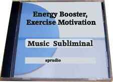 Energy Booster, Exercise Motivation  Music Subliminal Audio CD Start Exercising