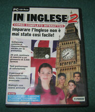 "Informatica/Software/Lingue""IN INGLESE 2 n°70""Corso Interattivo/PC-CDrom/Finson"