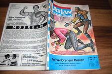 ATLAN  # 27 -- AUF VERLORENEM POSTEN // 1. Auflage 1971