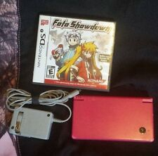 Nintendo DSi Style Boutique Pink Handheld System Console With Foto Showdown Game