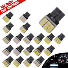 20pcs White T10 5W Wedge 9-SMD License Plate Map Door Cargo Interior Light 168