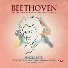 Ludwig van Beethoven - Romance for Violin in F Major 2 [New CD] Manufactured On