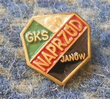 NAPRZOD JANOW ICE HOCKEY POLAND CLUB 1980's SMALL PIN BADGE