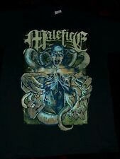 MALEFICE T-SHIRT SIZE SMALL NEW/HEART OF A COWARD/THE GHOST INSIDE /CALIBAN