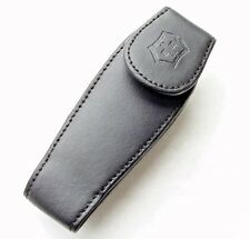 Victorinox Swiss Army Knife Belt Clip Pouch Medium Black Leather 33255 NEW!