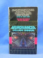 1984 NEUROMANCER William Gibson, 1st Edition, First Printing, SIGNED by author