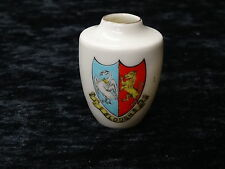 Crested China - Carlton Model of a Vase with Slough Crest