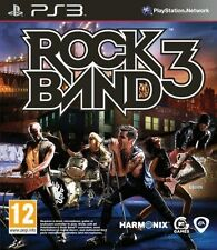 Rock Band 3 (Playstation 3 PS3, Guitar, Singing, Drums, Bass Video Game) NEW