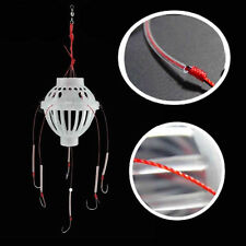 1pcs Fishing Tackle Sea Fishing Box Hook Monsters with Six Strong Fishing Hooks