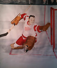 "Terry Sawchuk 16"" x 20"" Limited Edition Lithograph Print - Detroit Red Wings #1"