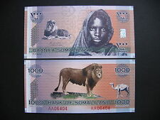 SOMALILAND  1000 Shillings 2006 Commemorative Issue  (PCS1)  UNC