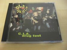 Old Skull - C.I.A. drug fest / Jüngste Punk Hardcore Band der Welt / CD RAR 1992
