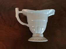 Antique 19th century Chinese Export Porcelain Helmet Cream Jug Creamer Pitcher