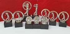 GOLF TROPHIES / GOLF SOCIETY / PRESENTATION ( 10 PIECES ) FREE WOODEN SPOON**