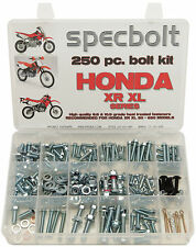 250pc Honda XR XL CRF F Bolt Kit Z 50 80 100 185 200 250 400 500 600 650 TL