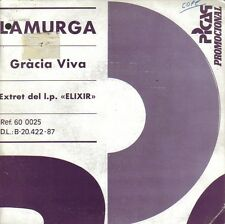 LA MURGA-GRACIA VIVA SINGLE VINILO 1987 SPAIN REGULAR COVER-GOOD VINYL