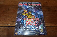 IRON MAIDEN - Flyer !!! EDDIE RIPS UP - 2005 !!!