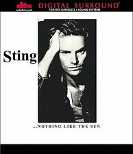 Sting NOTHING LIKE THE SUN cd/dvd-audio-a DTS 5.1 NEW (The Police)