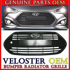 NEW 2012-2015 Hyundai Veloster Turbo Unpainted Front Hood Bumper Radiator Grille