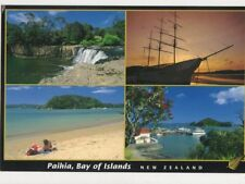 Paihia Bay Of Islands New Zealand ostcard 474a